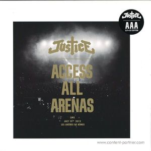 """Justice - Access All Arenas (2017edition, 2x12"""")"""