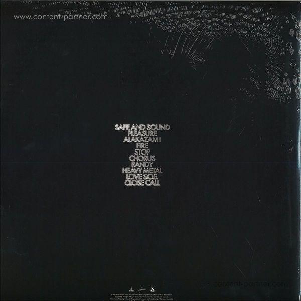 Justice - Woman (2LP + CD) (Back)