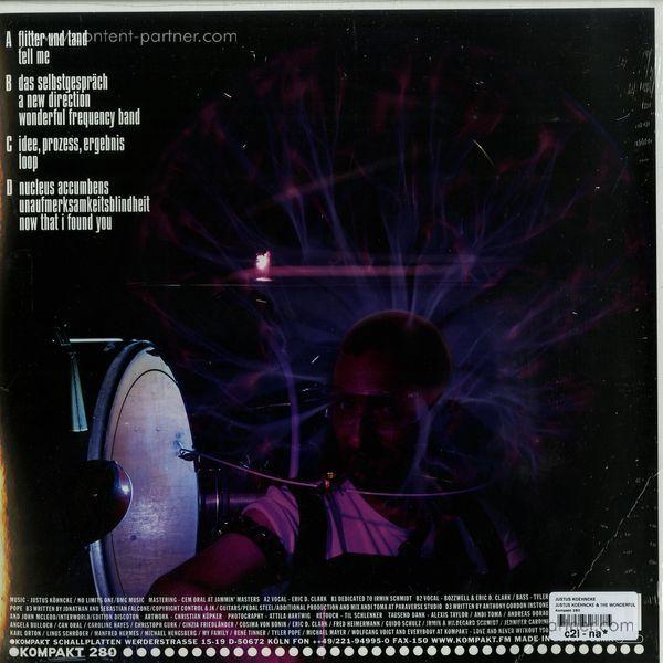 Justus Köhncke - Justus Köhncke & The Wonderful Frequency (Back)