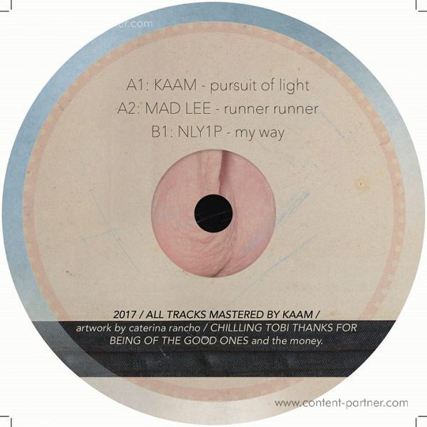 KAAM, MAD LEE, NLY1P - Hodenhouse 001 (Vinyl Only) (Back)