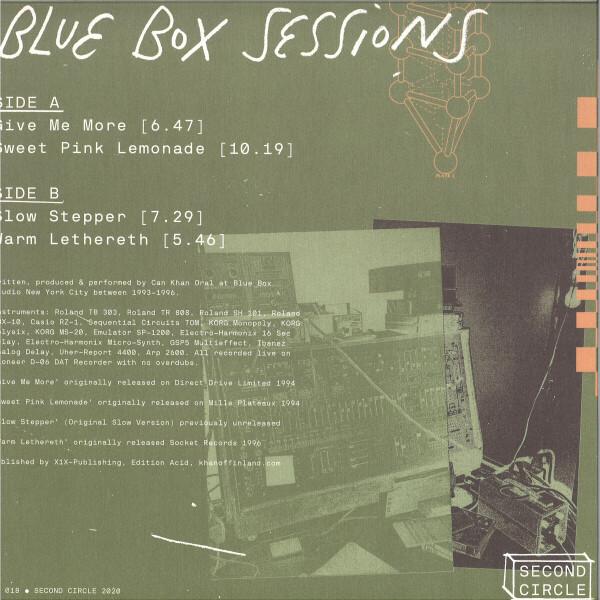 KHAN - BLUE BOX SESSIONS (Back)