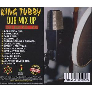 KING TUBBY - Dub Mix Up-Rare Dubs 1975-1979 (Back)