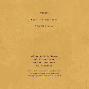 KOSH - VICIOUS LOVE (Back)