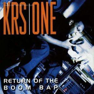 KRS One - Return Of The Boom Bap (Ltd. Tranp. Vinyl, 2LP)