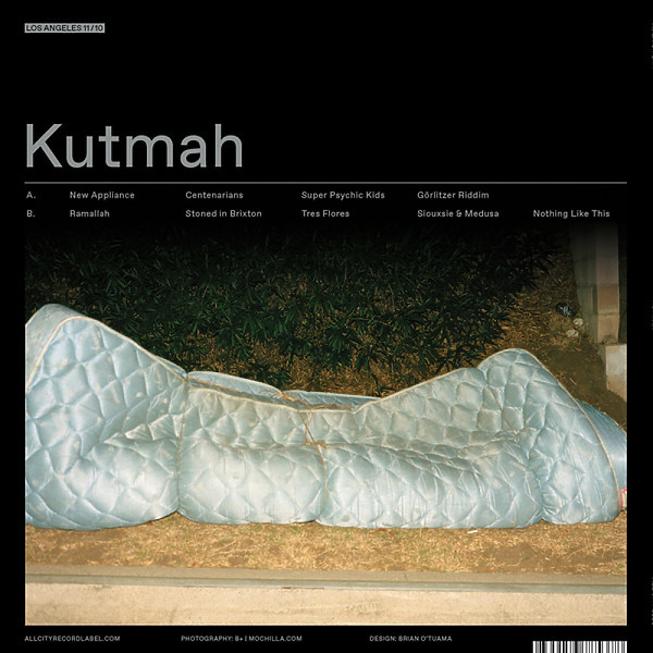 KUTMAH - NEW APPLIANCE (Back)