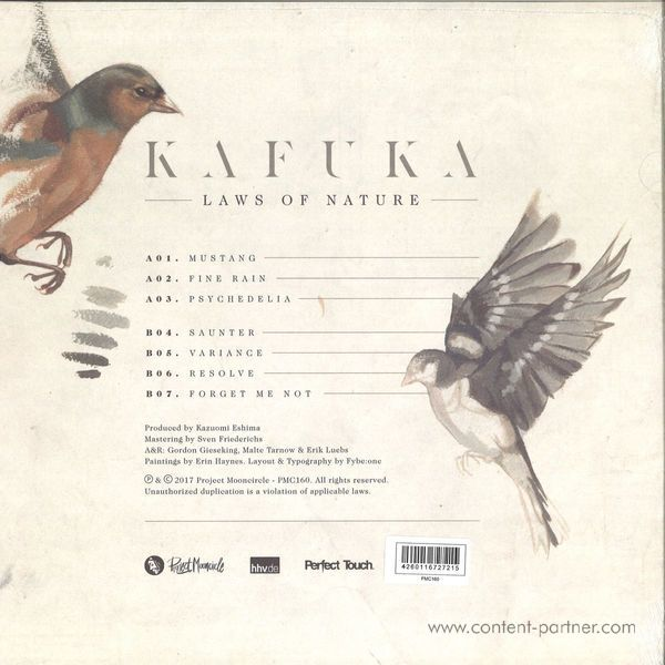 Kafuka - Laws Of Nature (LP+MP3) (Back)
