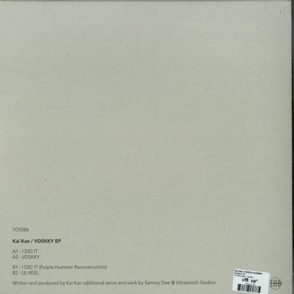 Kai Kan / Purple Hummer - VDSKKY EP (Back)