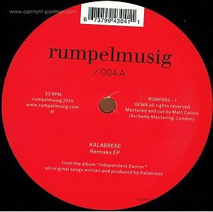 Kalabrese - Remixes Ep (Frank Wiedmann, Acid Pauli)