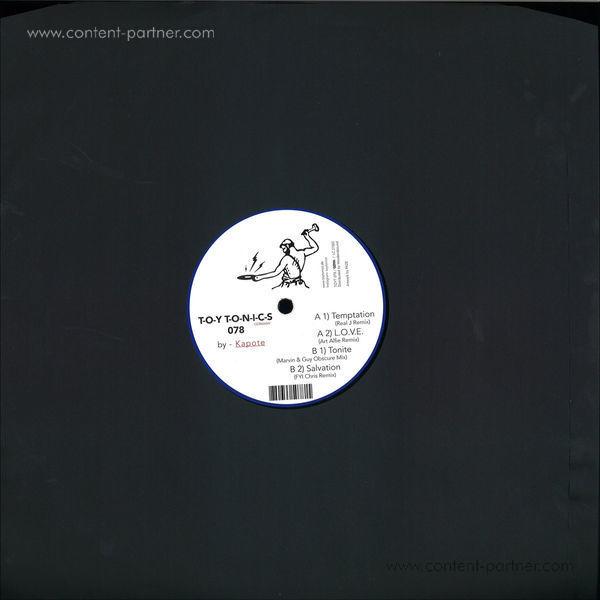 Kapote - Remix Ep (Back)