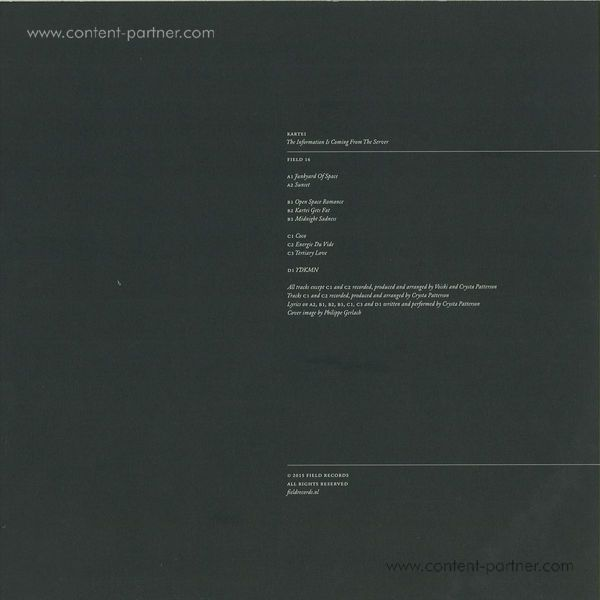 Kartei - The Information Is Coming From The Serve (Back)