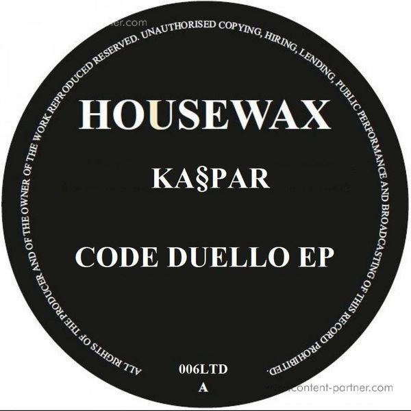 Kaspar - Code Duello Ep (Back)