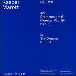 Kasper Marott - Forever Mix EP (+Poster) (Back)