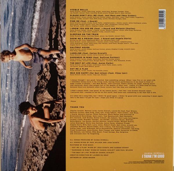Kassa Overall - I Think I'm Good (LP) (Back)