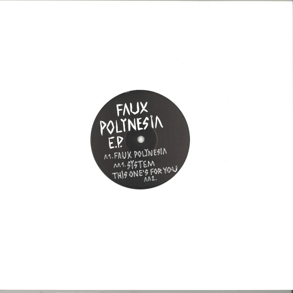 Kassian - Faux Polynesia EP (Back)