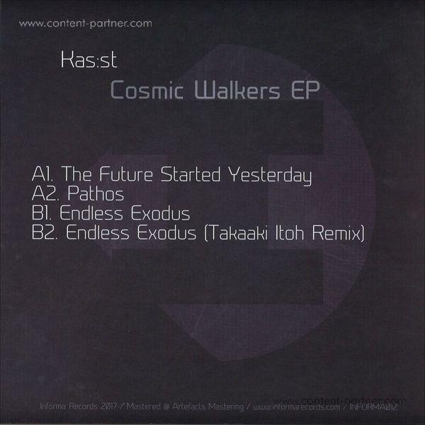 Kas:st - Cosmic Walkers Ep (Back)