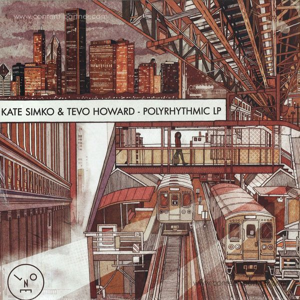 Kate Simko & Tevo Howard - Polyrhythmic LP