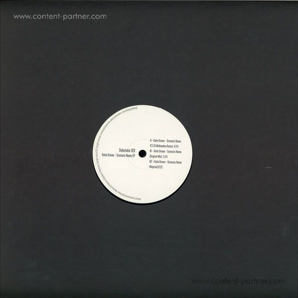 Katie Drover - Scenario Name EP (Incl. Cesar Merveille Remix) (Back)