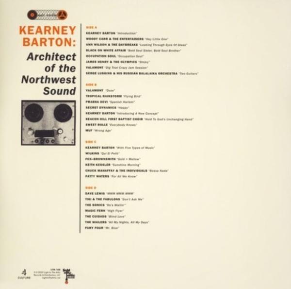Kearney Barton - Architect of the Northwest Sound (Remastered 2LP) (Back)
