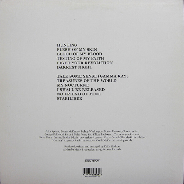 Keith Hudson - Flesh Of My Skin Blood Of My Blood (Reissue) (Back)