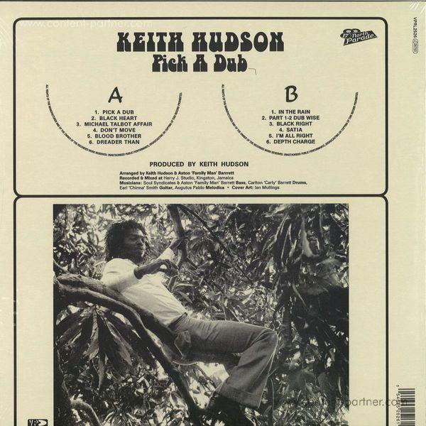 Keith Hudson - Pick A Dub (Expanded 2LP/Original Artwork Edition) (Back)