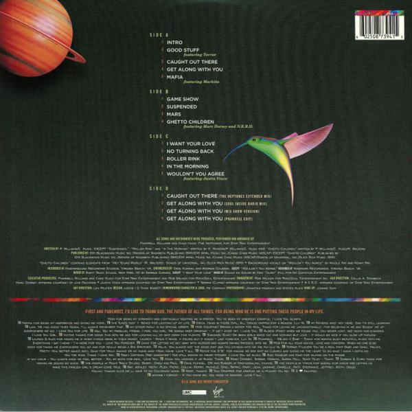 Kelis - Kaleidoscope (20th Anniv. Orange Vinyl 2LP) (Back)