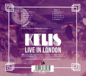 Kelis - Live In London (Back)