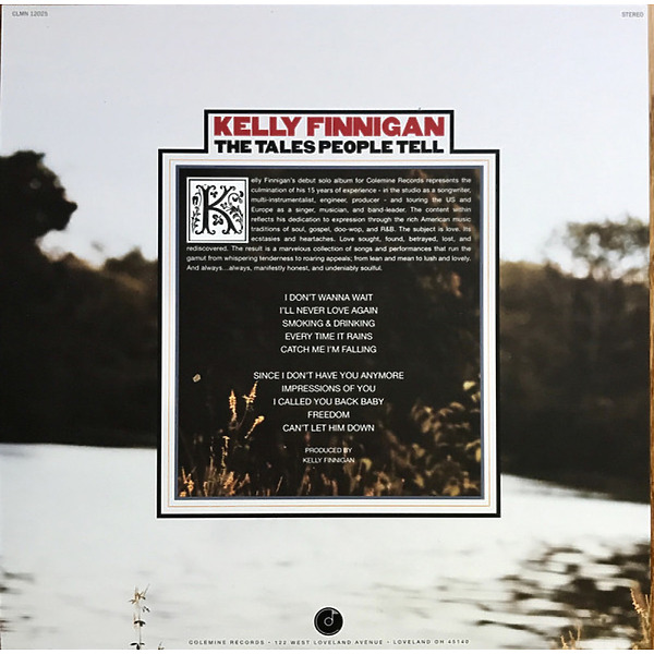 Kelly Finnigan - The Tales People Tell (LP) (Back)