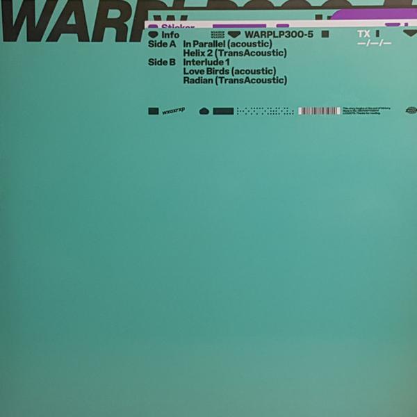 """Kelly Moran - WXAXRXP Session (12""""+MP3) (Back)"""