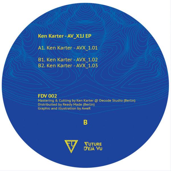 Ken Karter - AV_X1J EP (Back)