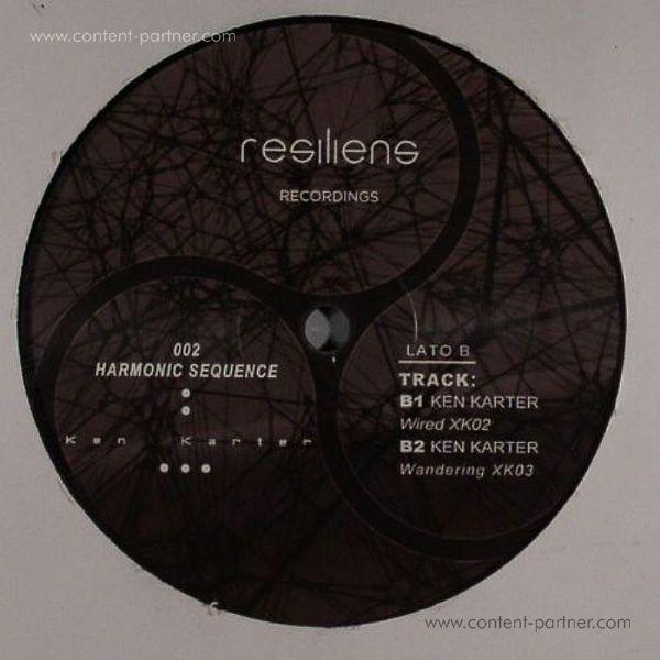 Ken Karter - Harmonic Sequence EP (Back)
