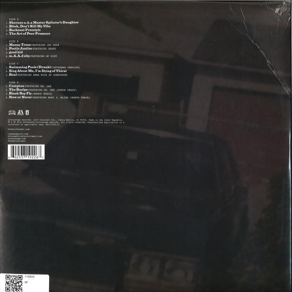 Kendrick Lamar - good kid, m.A.A.d city (2LP repress) (Back)