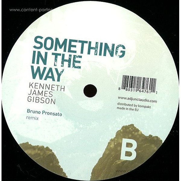 Kenneth James Gibson - Something In The Way Extended (Back)