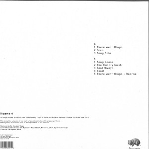 Keope - Triangulo (LP) (Back)