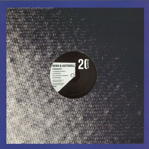 Kero & Gotshell - Perindsor EP (Back)