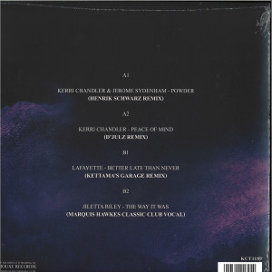 Kerri Chandler - Kerri Chandler Remixed Vol. 2 (Henrik Schwarz,..) (Back)