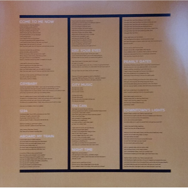 Kevin Morby - City Music (LP) (Back)