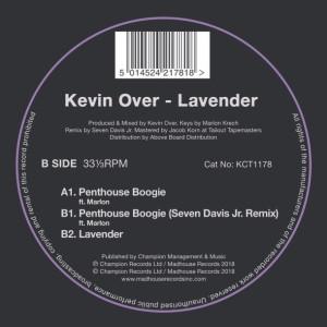 Kevin Over - Lavender EP (inc. Seven Davies JR Remix)
