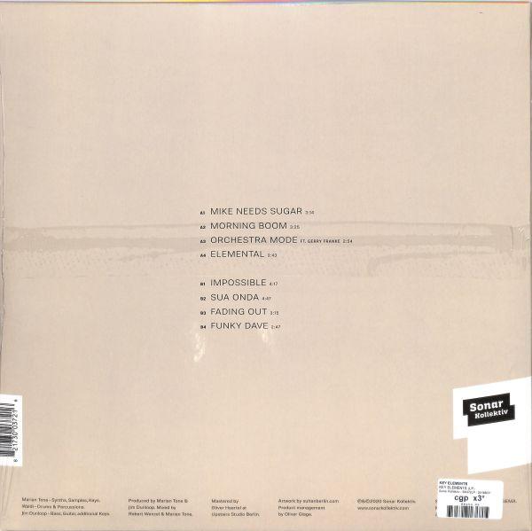 Key Elements - Key Elements (Vinyl LP) (Back)