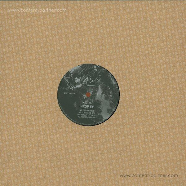 Kez Ym - Prop EP (Back)