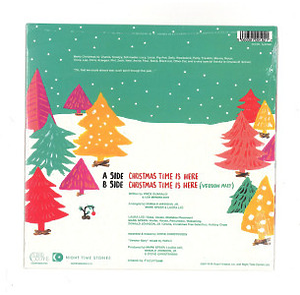 Khruangbin - Christmas Time Is Here (Ltd. Green Vinyl) (Back)