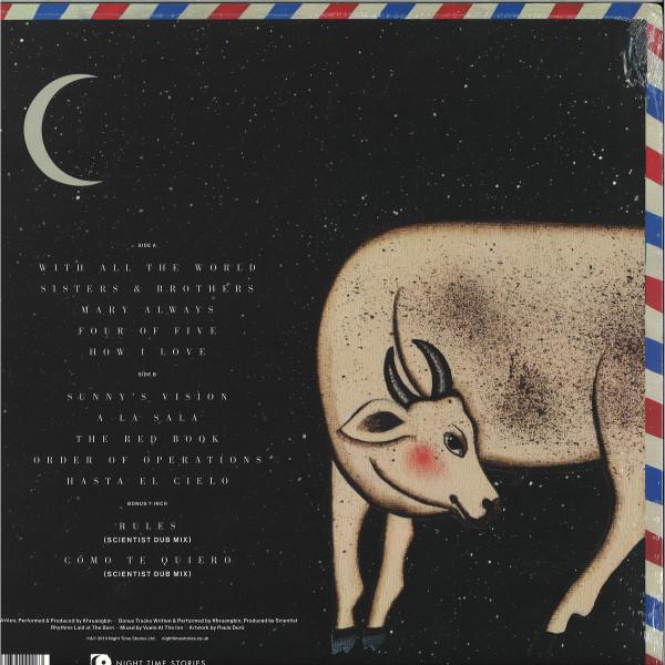 """Khruangbin - Hasta El Cielo (Black Vinyl LP+7"""") (Back)"""
