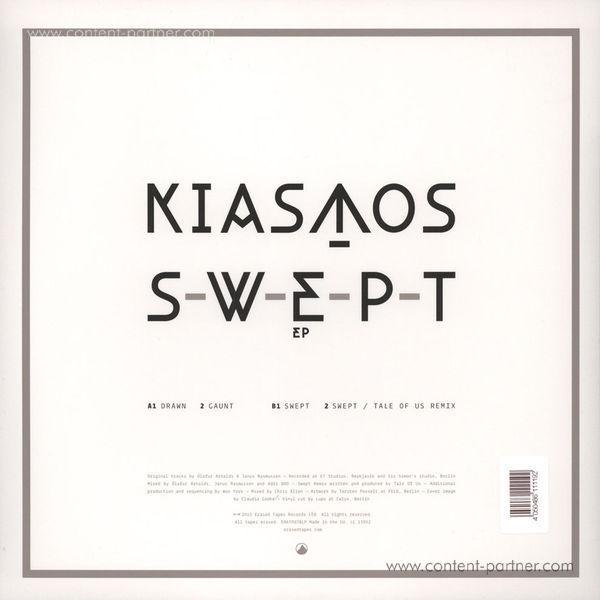 Kiasmos (Olafur Arnalds/Janus Rasmussen) - Swept EP (Tale of Us rmx) (Back)