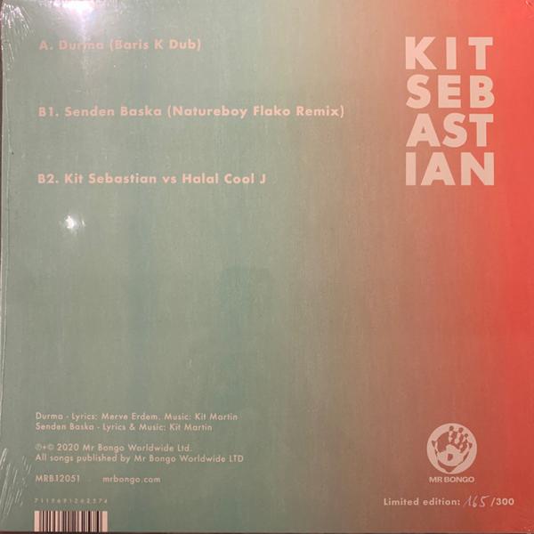 """Kit Sebastian - Remix 12"""" (Back)"""