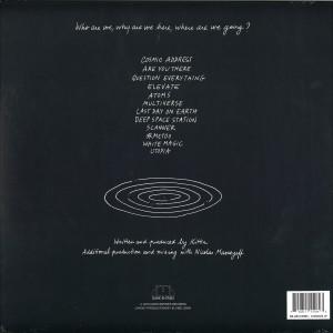 Kittin - Cosmos LP (Back)