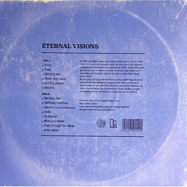 Klaus Layer - Eternal Visions (Back)
