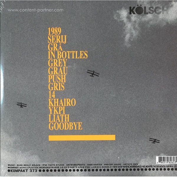 Kölsch - 1989 (2LP + Download Code) (Back)