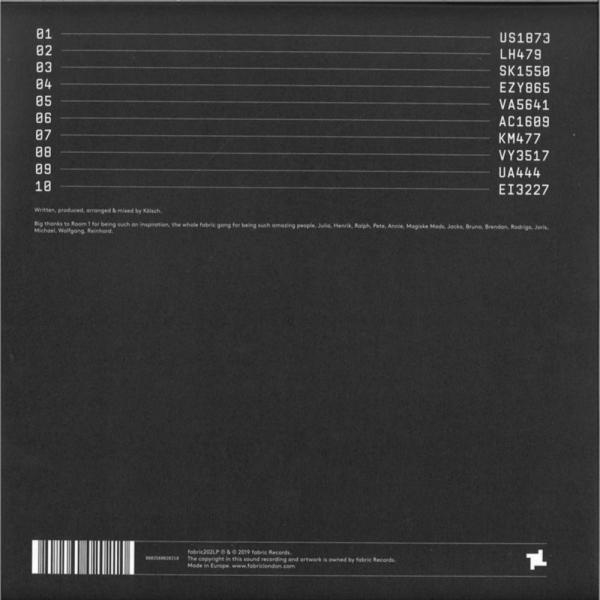 Kölsch - Fabric Presents: Kölsch (2LP Gatefold) (Back)