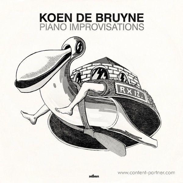 Koen De Bruyne - Piano Improvisations (RSD 2017 Release) (Back)