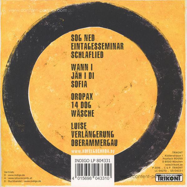 Kofelgschroa - Kofelgschroa (2LP) (Back)