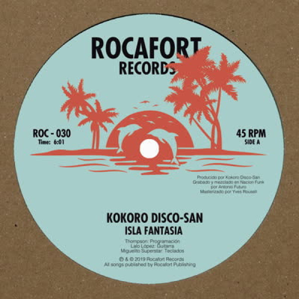 Kokoro Disco-San - Isla Fantasia / Sonic Feeling